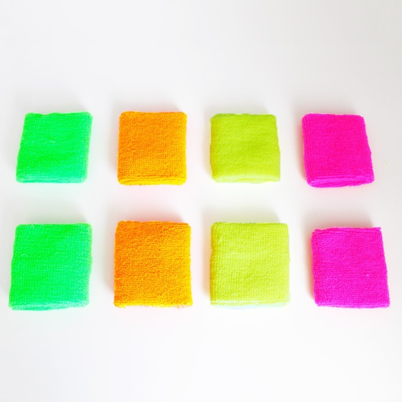 Neon Sweatbands Assorted Colours