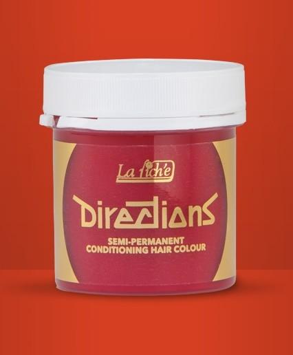 Fire Directions Semi Perm Hair Dye By La Riche