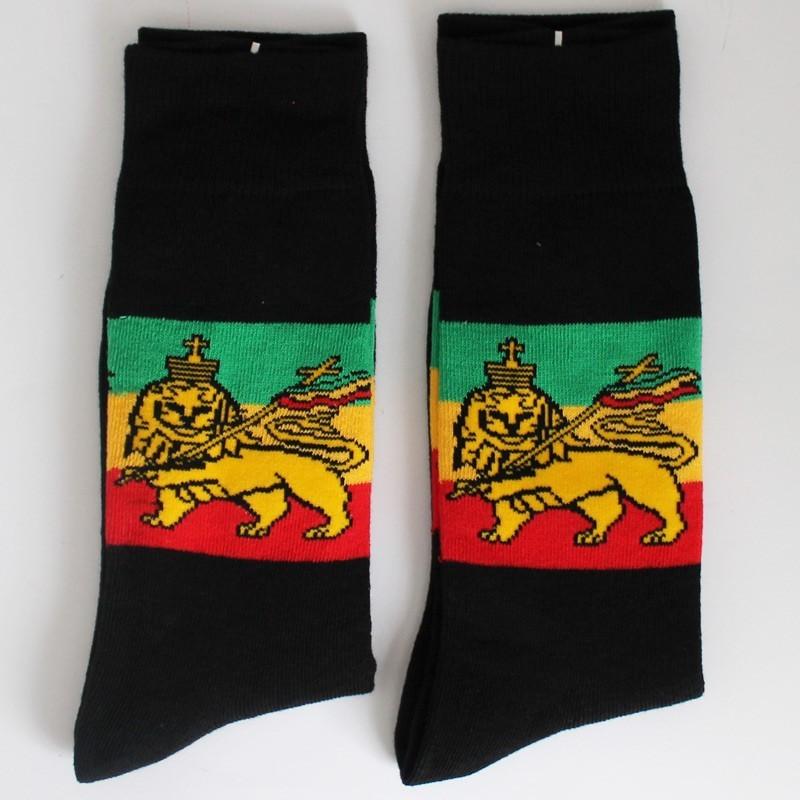 Lion Of Judah Design Socks