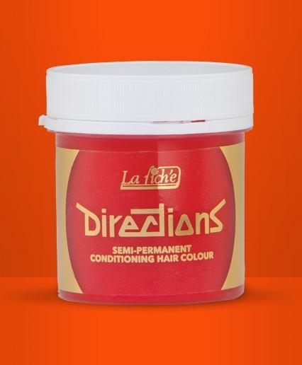 Mandarin Directions Semi Perm Hair Dye By La Riche