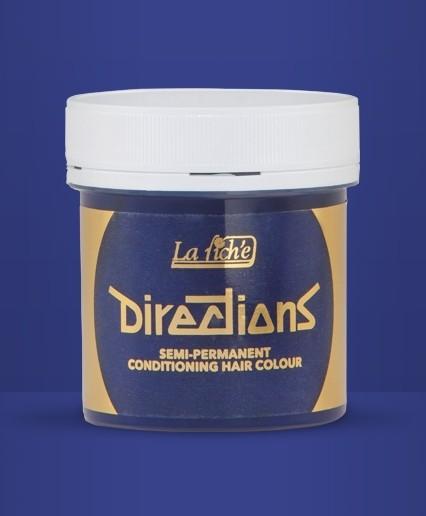 Neon Blue Directions Semi Perm Hair Dye By La Riche