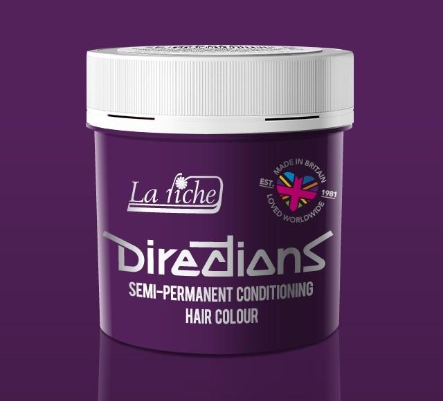Plum Directions Semi Perm Hair Dye By La Riche