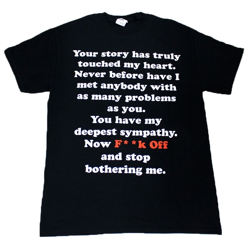 """""""Your Story Has Truly Touched..."""" Design Black Cotton T-Shirt"""
