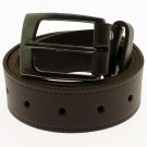 "Men's Leather Belts 1.5"" Wide - Dark Brown"