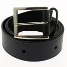 "Men's Leather Belts 1.5"" Wide - Navy"