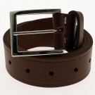 "Men's Leather Belts 1.5"" Wide - Tan"