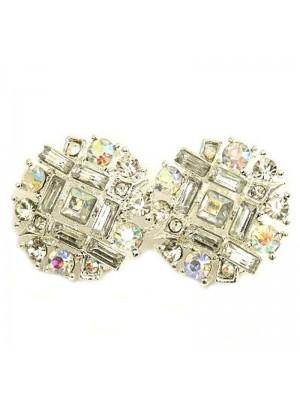Cluster Clip Earrings