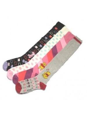 Girls' Disney Over the Knee Socks 'Winnie The Pooh'