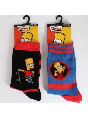 Bart Simpson Kids Socks