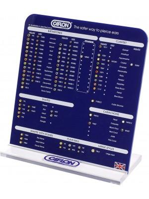 Caflon Blu Range Retail Display Board
