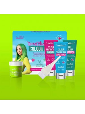 Fluorescent Green Directions Hair Colour Kit