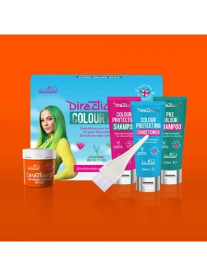Fluorescent Orange Directions Hair Colour Kit