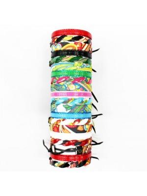 Friendship Bracelet On The Roll Folk Theme