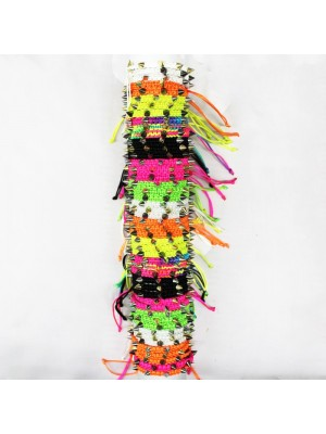 Friendship Bracelet On A Roll Neon Spikes Assorted