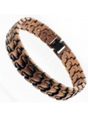 Magnetic Bracelet With 26 Magnets - Copper Solid Links