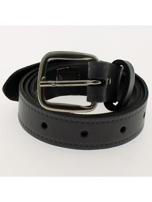 """Men's Leather Belts 1"""" Wide - Grey"""