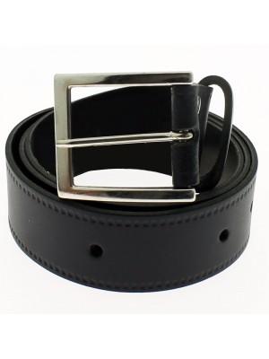 "Men's Leather Belts 1.5"" Wide - Navy"