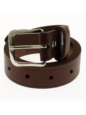 """Men's Leather Belts 1.25"""" Wide - Tan"""