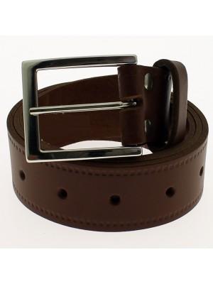 """Men's Leather Belts 1.5"""" Wide - Tan"""