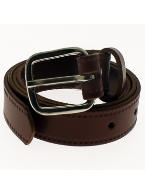 "Men's Leather Belts 1"" Wide - Tan"