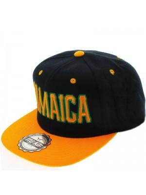 MU:KA: Design Snapback Cap Jamaica (Yellow)