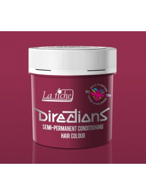 Rose Red Directions Semi Perm Hair Dye By La Riche