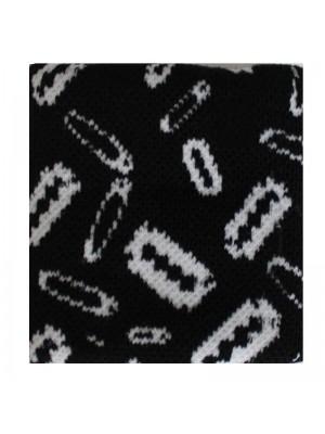 Pin and Razor Design Sweatbands