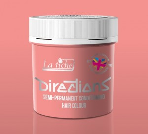 Pastel Pink Directions Semi Perm Hair Dye By La Riche