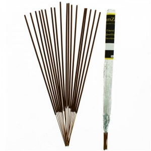 Zam Zam Long burning Fragranced Incense Sticks - (White Linen)