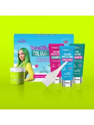 Fluorescent Lime Directions Hair Colour Kit