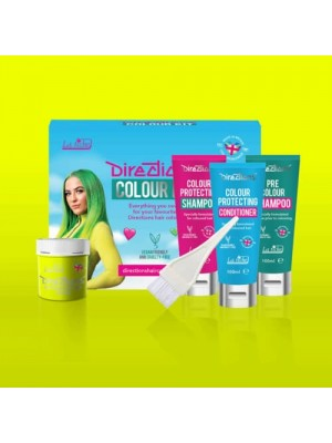 Fluorescent Yellow Directions Hair Colour Kit