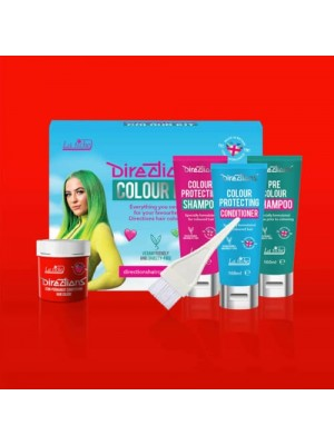 Neon Red Directions Hair Colour Kit