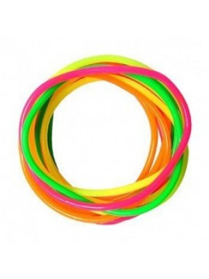 Gummy Bangles - Neon Assortment (12 Packs of 12)