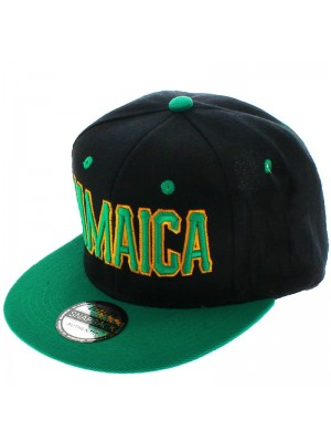 ICAP Design Snapback Cap Jamaica (Green)