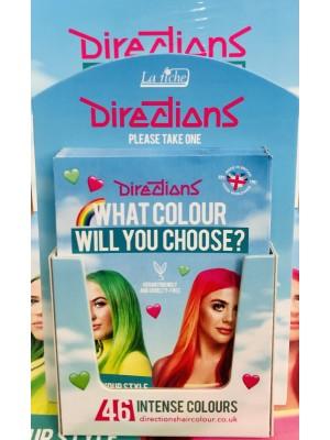 Directions Hair Colour Brand Leaflets & Holder