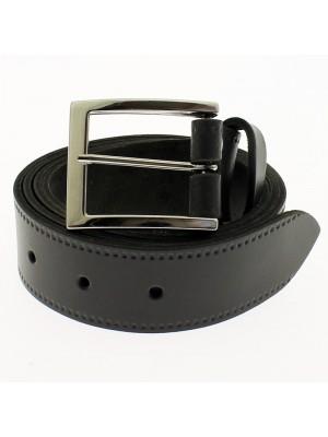 """Men's Leather Belts 1.25"""" Wide - Grey"""