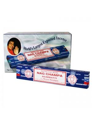 Sai Baba Satya Nag Champa Incense Sticks (15g)